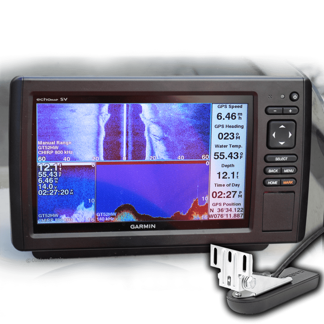 Garmin echoMAP CHIRP Series - 94sv - Coastal Maps - With Transducer